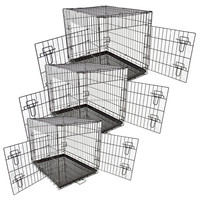 Low Price Foldable Collapsible Wire Dog Cage