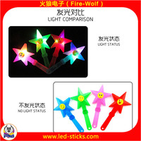Customized Logo Cheering Noise Maker Toy LED Flashing Hand Clapper Manufacturer China