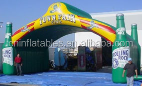 2014 New Design Inflatable Replica Rolling Rock Inflatable Arch