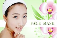 Korea woman SNAIL WHITE Whitening beauty lady facial face mask