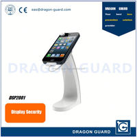Hand phone security holder & Mobile phone secure display & Phone secure holder alarm