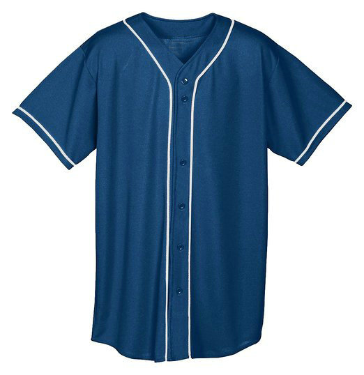 American fashion blank custom baseball jersey