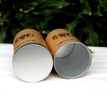 Round recycled paper cardboard tubes packaging design box
