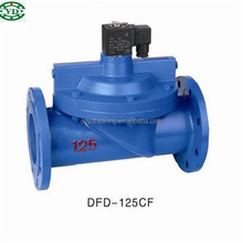 DFD100CF two position pilot operated type large diameter electromagnetic Valve DFD-100CF
