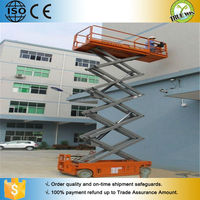 Portable man lifts self propelled scissor lift for sale