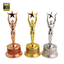 replica trophy made in china trophies oscar souvenirs with cheap price