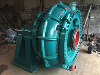 Electric gravel sand dredge suction pump