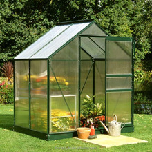 100% Bayer polycarbonate UV coated greenhouse roofing material /small greenhouse plastic