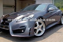 Genesis Coupe 09'~ fiberglass auto part body kit