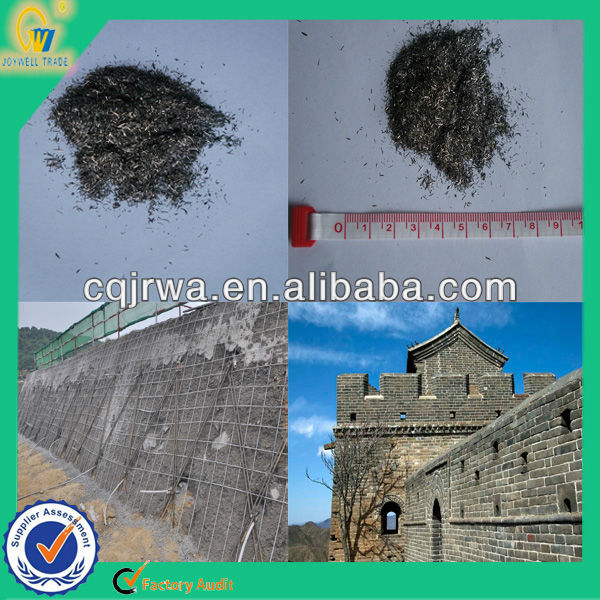 hot concrete micro steel fiber for cement reinforcement