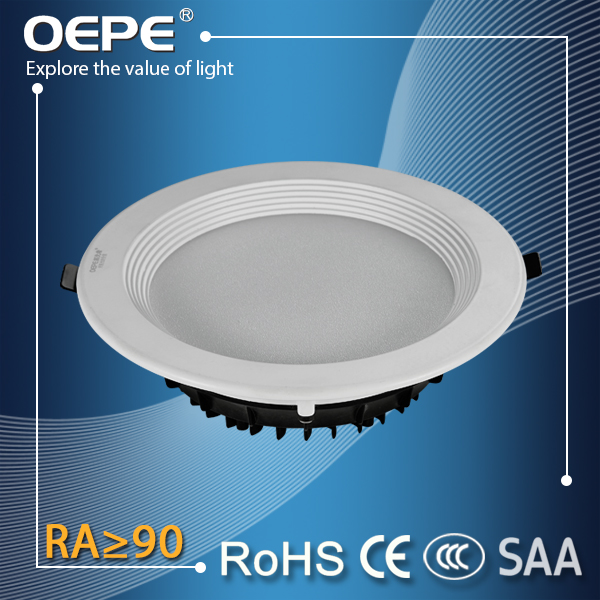 Height 50mm Recessed 18W Ultra Thin Led Panel Downlight