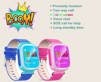 Cheap Q90 smart watch for kids touch screen gps smartwatch