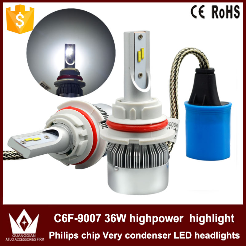 Guangdian new headlight C6F-H1 highpower LED H1 headlight 36W !