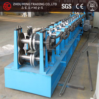 Customized steel frame Z shape purline roll forming machinery