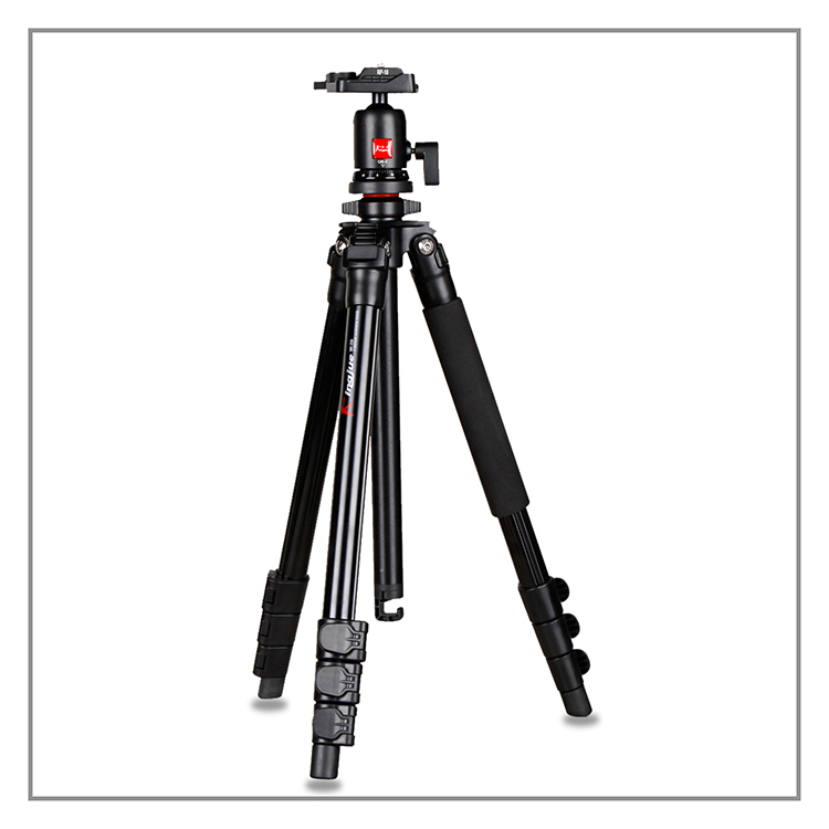 Kingjue FA-258+QE-0 DSLR flip lock tripod for digital camera