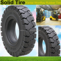 Hot Sale Forklift Part, 650-10, 28x9-15 forklift Solid Tires