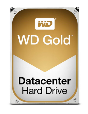 Perfect for high-availability server and storage arrays Gold Datacenter Hard Drive