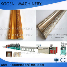 kooen Recycled PS Foamed Decoration Picture Frame/SkirtingProfile Making Machine