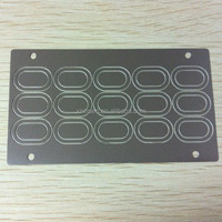 China supplier high quality heat resistant emi gasket material metal shim