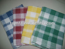kitchen textile woven 100%cotton plain tea towel fabric printing