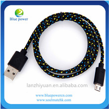 fabric braided magnetic micro usb cable for apple iphone usb otg cable wholesale best selling in alibaba