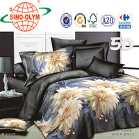 Luxury bedding Serious Hunting flower 3D Bedding Set