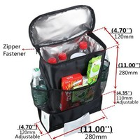 Customized portable reusable polyester 1.5l bottle wine cooler bag for sale