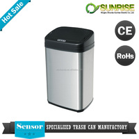 restaurant trash can electronic sensor waste bin homeuse waste bin