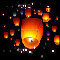 chinesee hot air balloon biodegradable luminary sky lantern paper lantern with low price