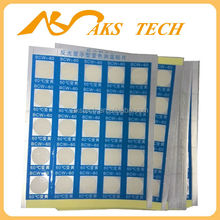 high temperature heat activated sticker , temperature indicator paper