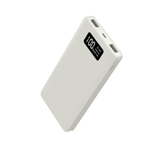 Hot Sale 10000Mah Pearl White Polymer Battery Power Bank 10800 Mah