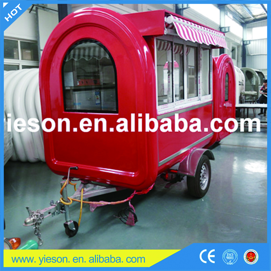 Top sell mini truck food / insulated stainless food cart, van, kiosk / stainless steel factory food cart & lemon food van