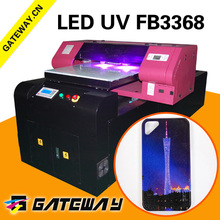 5-Color adopt UV curable ink phone case uv led printing machine