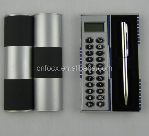 Best selling pocket calculator / pen calculator / calculator with pen set