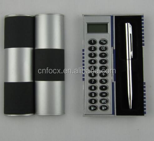 Best selling pocket calculator / pen calculator / calculator with pen set