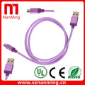 Custom Logos length usb2.0 data cable for android smartphone
