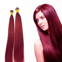 Burgundy brazilian hair red wine hair color