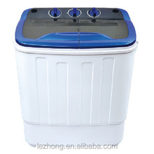 3.6kg twin tub small mini washing machine
