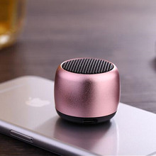 BM2 Mini Metal Loudspeaker Portable Bluetooth Speaker Amplifier Egg Shape Pocket Audio MP3 Player Handfree With Mic Speaker