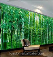 3d Bamboo Design wall Murals wallpapers for hotel or room decor