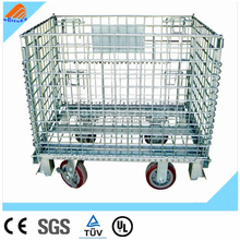 Heavy Duty Scale Evergreat collapsible rolling metal storage cage,metal storage cages with wheels,wire rolling storage cage