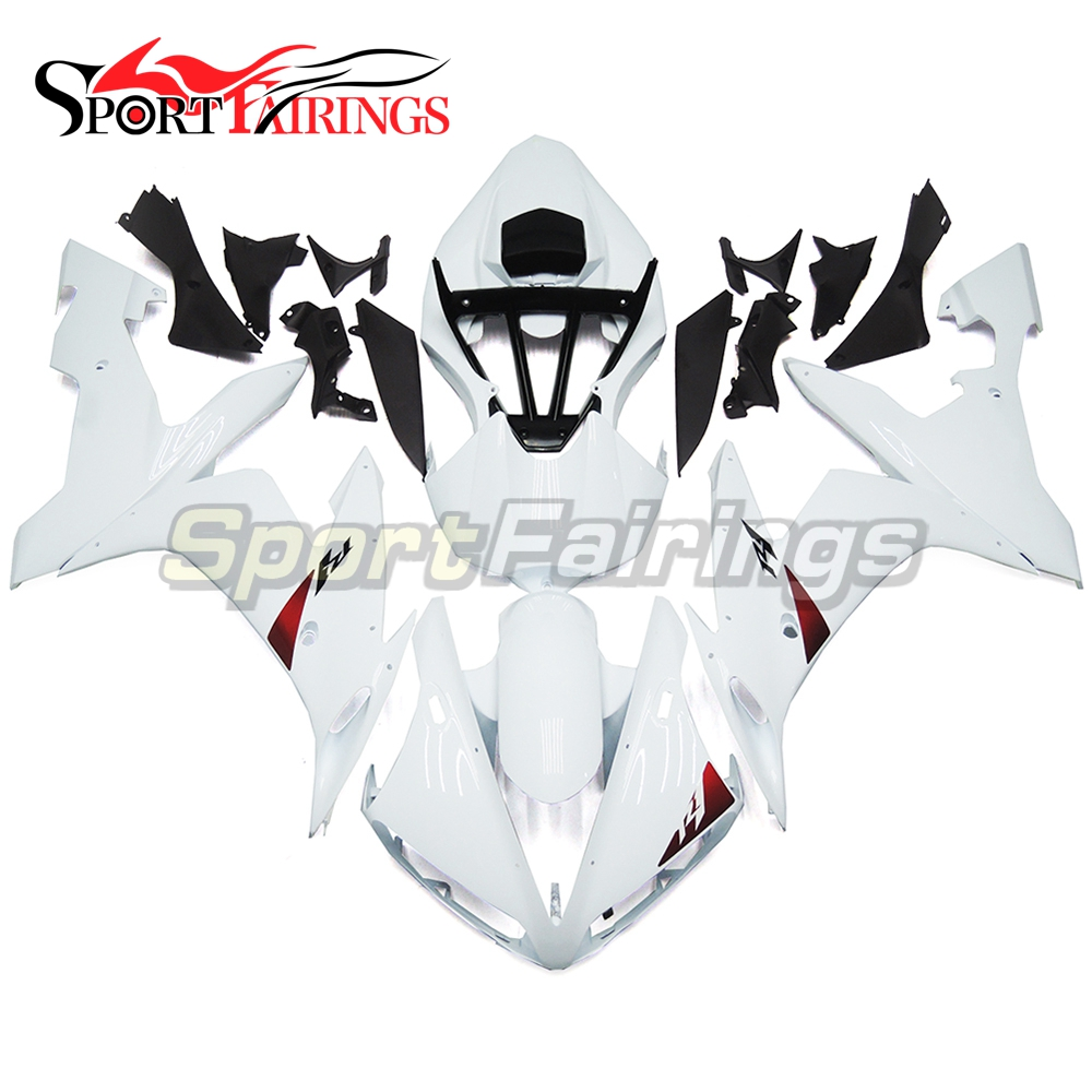Pearl White Black Plastic Full Fairings For Yamaha YZF <strong>R1</strong> 04 05 06 ABS Injection Motorcycle Fairing Kit Covers