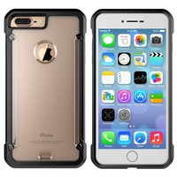 Hot Hybrid Armor TPU PC 2 in 1 Case For iPhone 7 plus Phone Case