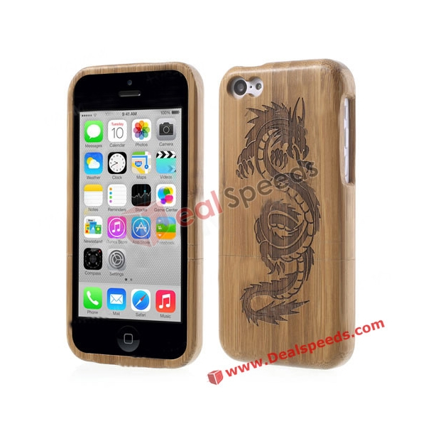 Wooden Hard Back Case for iPhone 5C