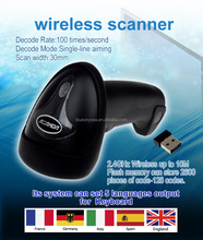 ALANDA Quality 2.4G 30m Wireless Laser Barcode Scanner For Windows & Windows CE