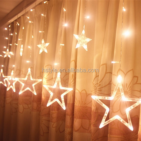 Led Waterproof Star Lights, LED Curtain Light, LED Star Fairy Light HNL374