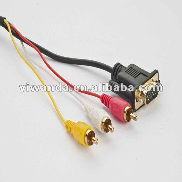vga to 3rca cable vga to red how does vga to 3 rca cable work efcaviation com vga rca wiring diagram at fashall.co