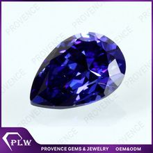 Wuzhou synthetic tanzanite stones loose zirconia gemstones sale