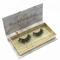 Own Brand/OEM/Private Label Wholesale 3D 100% Mink Fur False Eyelashes Silk Lashes Packaging fashion individual eyelash