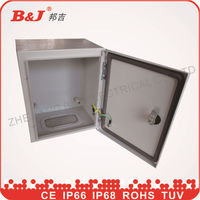 high quality IP66 electricalsheet metal waterproof outdoor electrical distribution box board/sheet metal box